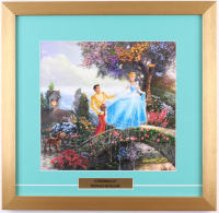 "Thomas Kinkade Walt Disney's ""Cinderella"" 17.5x18 Custom Framed Print Display"