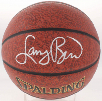 Larry Bird Signed NBA Basketball (Schwartz COA & Bird Hologram)