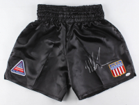 Mike Tyson Signed Team USA Boxing Trunks (JSA COA)