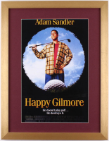 """Happy Gilmore"" 17x22 Custom Framed Movie Poster Display"