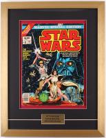 """Marvel Special Edition: Star Wars"" Issue #1 17x21 Custom Framed Comic Book Display"