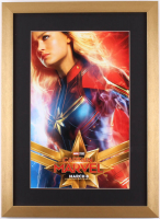 """Captain Marvel"" 16x22 Custom Framed Movie Poster Display"