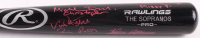"""""""The Sopranos"""" Rawlings Pro Baseball Bat Cast-Signed By (4) With Al Sapienza, Michael Imperioli, Vincent Pastore & Federico Castelluccio with Multiple Inscriptions (MAB Hologram)"""