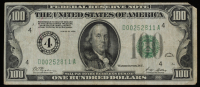 1928 $100 One Hundred Dollars U.S. Federal Reserve Note