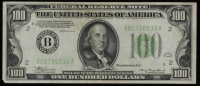 1934 $100 One Hundred Dollars U.S. Federal Reserve Note