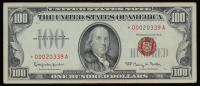 Star Note - 1966 $100 One Hundred Dollars U.S. Legal Tender Note