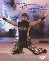 "Shawn Michaels Signed WWE 8x10 Photo Inscribed ""HBK"" (JSA COA)"