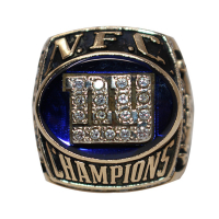 Authentic 2000 New York Giants NFC Championship Ring