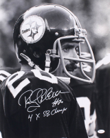 6bae2431d8b Rocky Bleier Signed Pittsburgh Steelers 16x20 Photo Inscribed