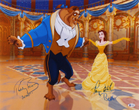 """Paige O'Hara & Robby Benson Signed """"Beauty and the Beast"""" 16x20 Photo Inscribed """"Belle"""" & """"Beast"""" (Beckett COA) at PristineAuction.com"""