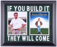 "Kevin Costner Signed ""Field of Dreams"" 19.5x23.5 Custom Framed Photo Display (JSA COA)"
