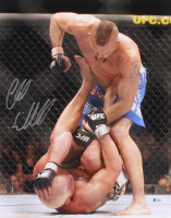 Chuck Liddell Signed UFC 16x20 Photo (Beckett COA)