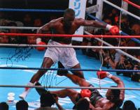 "Mike Tyson & James ""Buster"" Douglas Signed 16x20 Photo Inscribed ""Tyson KO"" & ""2/10/90"" (JSA COA)"