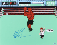 "Mike Tyson Signed ""Punch-Out!!"" 16x20 Photo (Beckett Hologram)"