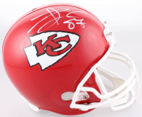 Travis Kelce Signed Kansas City Chiefs Full-Size Helmet (JSA COA)