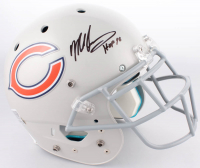 Mike Singletary Signed Chicago Bears Full-Size Helmet (JSA COA)