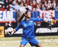 Hope Solo Signed Team USA 16x20 Photo (JSA COA)