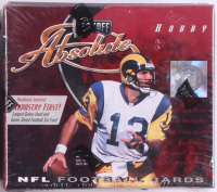 2000 Playoff Absolute Football Cards Unopened Hobby Box with (20) Packs