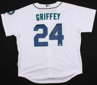 Ken Griffey Jr. Signed Seattle Mariners Jersey (PSA COA)