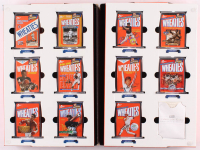 Lot of (11) Wheaties 75th 24k Gold Signature Mini Box Collectible with Lou Gehrig, Babe Ruth, Tiger Woods, John Elway