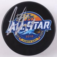 Auston Matthews Signed 2018 All-Star Game Hockey Puck (Beckett COA)