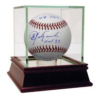 Carl Yastrzemski Signed Baseball with (11) Inscriptions & High Quality Display Case (Steiner COA)