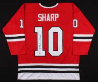 Patrick Sharp Signed Chicago Blackhawks Jersey (Beckett COA)