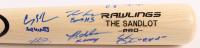 """The Sandlot"" Rawlings Pro Baseball Bat signed by (6) with Tom Guiry, Chauncey Leopardi, Marty York, Shane Obedzinski (MAB Hologram)"
