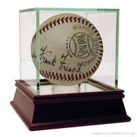 Frank Frisch Signed Baseball with High Quality Display Case (JSA Hologram)