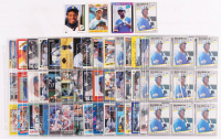 Lot of (134) Ken Griffey Jr. Baseball Cards With (5) 1989 Upper Deck #1 RC, 1990 Star Griffey Jr. #11 Seattle Mariners, 1989 Fleer #548 RC & 1989 Donruss #33 RR RC