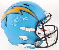 Antonio Gates Signed Los Angeles Chargers Full-Size Speed Helmet (Beckett COA)