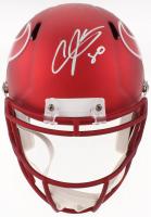 Andre Johnson Signed Houston Texans Full-Size Blaze Speed Helmet (JSA COA)