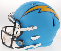 Antonio Gates Signed Los Angeles Chargers Full-Size Speed Helmet (Beckett COA) at PristineAuction.com