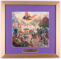 "Thomas Kinkade Walt Disney's ""Dumbo"" 17.5x18 Custom Framed Print"