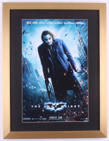 """The Dark Knight"" 17x22 Custom Framed Movie Poster Display"