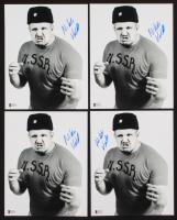 Lot of (4) Nikolai Volkoff Signed 8x10 Photos (Beckett COA)