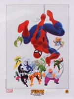 "Marvel ""Spider-Man and His Spectacular Villains"" 18x24 John Romita Serigraph Cel"
