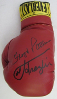 Floyd Patterson & Joe Frazier Signed Everlast Boxing Glove (JSA LOA)