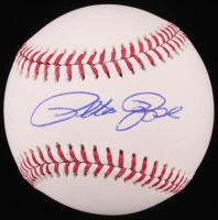 Pete Rose Signed OML Baseball (Fiterman Sports Hologram)