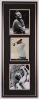 """Arnold Palmer, Jack Nicklaus, & Tiger Woods Signed LE 15x40 Custom Framed Photo Display Inscribed """"All the Best"""" (JSA COA)"""