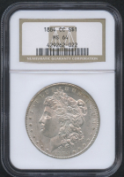 1884-CC $1 Morgan Silver Dollar (NGC MS 64)