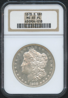 1878-S $1 Morgan Silver Dollar (NGC MS 65 PL)