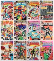 Comeplete Set of (12) 1984 Marvel Super Heroes Secret Wars Comic Books