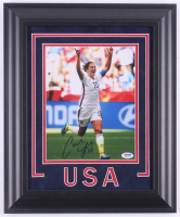 Carli Lloyd Signed Team USA 14.5x17.5 Custom Framed Photo Display  (PSA COA)