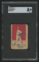 1921 W516-2-1 #10 Babe Ruth (SGC Authentic)