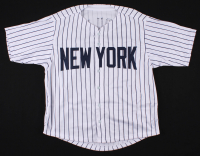 Miguel Andujar Signed New York Yankees Jersey (Beckett COA) at PristineAuction.com