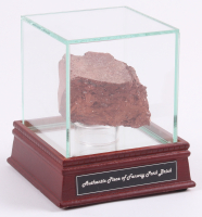 Authentic Game-Used Fenway Park Brick with High Quality Display Case (Steiner COA)