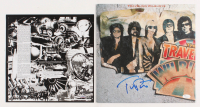 "Tom Petty Signed ""The Traveling Wilburys"" Vinyl Record Album Cover (JSA LOA)"