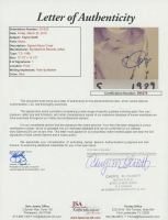 "Taylor Swift Signed ""1989"" Vinyl Record Album (JSA LOA) at PristineAuction.com"