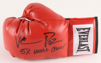"Vinny Pazienza Signed Everlast Boxing Glove Inscribed ""5x World Champ"" (JSA COA)"